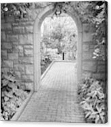 Through The Garden Gate Acrylic Print