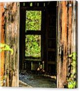 Through The Old Blacksmith Shop Acrylic Print