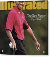 Tiger Woods, 1997 Masters Sports Illustrated Cover Acrylic Print