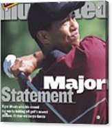 Tiger Woods, 1999 Pga Championship Sports Illustrated Cover Acrylic Print