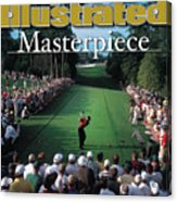 Tiger Woods, 2001 Masters Sports Illustrated Cover Acrylic Print