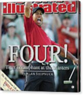 Tiger Woods, 2005 Masters Sports Illustrated Cover Acrylic Print