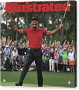 Tiger Woods, 2019 Masters Tournament Champion Sports Illustrated Cover Acrylic Print