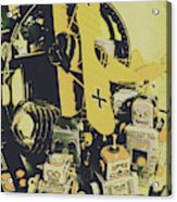 Tin Sign Toys Acrylic Print