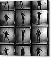 Tina Turner Contact Sheet Acrylic Print