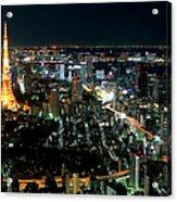 Tokyo Tower Acrylic Print