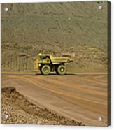 Tom Price Earthmover Acrylic Print