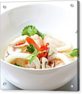 Tom Yum Goong, Hot And Sour Soup Acrylic Print