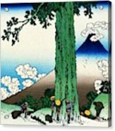 Top Quality Art - Mt,fuji36view-koshu Mishimagoe Acrylic Print