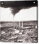 Tornado Moving Through Dallas Acrylic Print