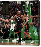Toronto Raptors V Boston Celtics Acrylic Print