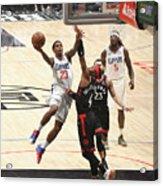 Toronto Raptors V Los Angeles Clippers Acrylic Print