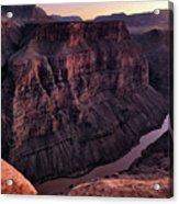 Toroweap Overlook At Sunset Acrylic Print
