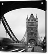 Tower Bridge In London In United Acrylic Print