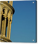 Tower Of Pisa Acrylic Print