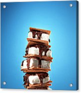 Tower Of Smores Treats Acrylic Print