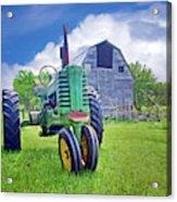 Tractor - On The Farm Acrylic Print