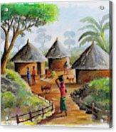 Traditional Village Acrylic Print