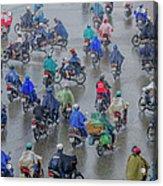 Traffic In Ho Chi Minh City Acrylic Print