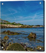 Tranquil Blues Day Kennebunkport Acrylic Print