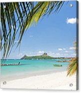 Travel Destination - Pigeon Island St Acrylic Print
