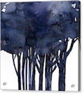 Tree Impressions 1f Acrylic Print