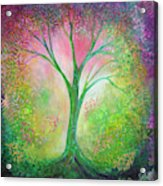 Tree Of Tranquility Acrylic Print