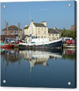 Trefusis Gy242 At Glasson Dock Acrylic Print