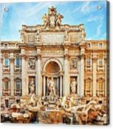 Trevi Fountain, Rome Acrylic Print