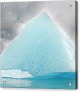 Triangular Iceberg On Gloomy Day, Bear Acrylic Print