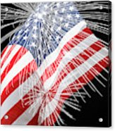 Tribute To The Usa Acrylic Print