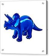 Triceratops Cartoon Acrylic Print