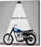 Triumph Trophy Tr6 Acrylic Print