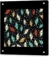 Tropical Design Pattern Acrylic Print