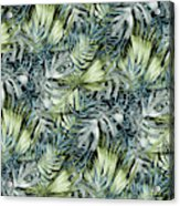Tropical Leaves I Acrylic Print