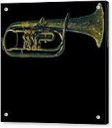Trumpet Music Instrument Gift For Musician Color Designed Acrylic Print