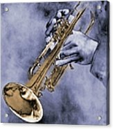 Trumpet Player Acrylic Print