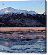 Turnagain Arm At Dawn Alaska Acrylic Print