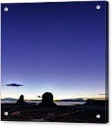 Twilight Approaches Acrylic Print