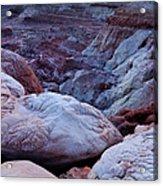 Twilight Landscape At Paria Rimrocks Acrylic Print