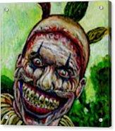 Twisty The Clown Acrylic Print