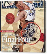 Ucla Kevin Love, 2008 Ncaa West Regional Finals Sports Illustrated Cover Acrylic Print