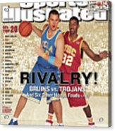 Ucla Kevin Love And Usc O.j. Mayo, 2007 College Basketball Sports Illustrated Cover Acrylic Print