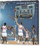 Ucla Lew Alcindor, 1968 Ncaa Semifinals Sports Illustrated Cover Acrylic Print