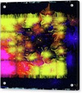 Uncaged And Unafraid - Breaking The Gridlock Of Hate Number 3 Acrylic Print