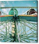 Under The Ferris Wheel Acrylic Print