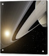Under The Rings Of Saturn Acrylic Print