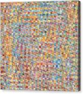 Unhinged Pompadour Ecto Acrylic Print