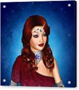 Unicorn Princess Adoria Acrylic Print
