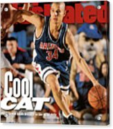 University Of Arizona Miles Simon, 1997 Ncaa National Sports Illustrated Cover Acrylic Print
